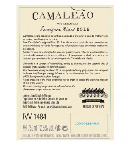 Branco Camaleão 100% Sauvignon Blanc 2019