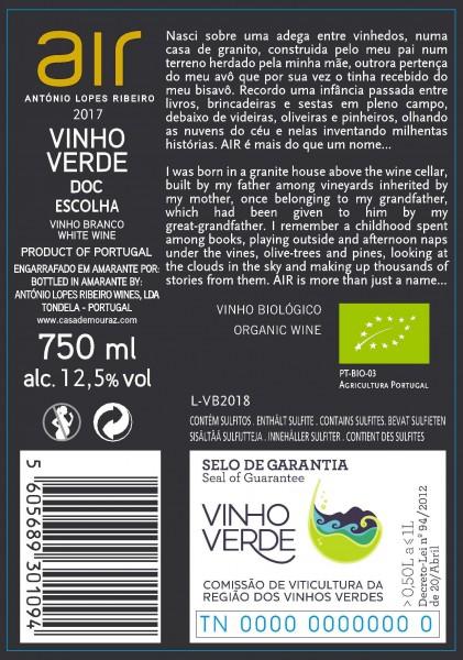Branco ALR Vinho Verde 2019 Bio