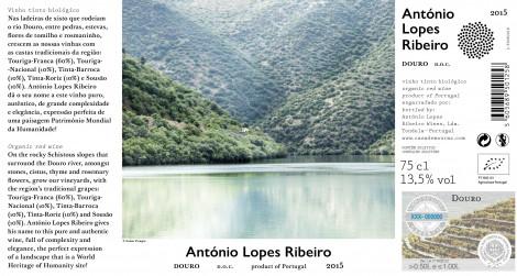 Tinto Alr Douro 2015 Bio