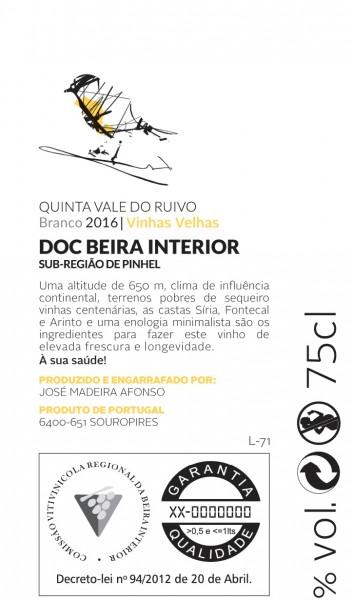 Branco Quinta Vale do Ruivo 2017