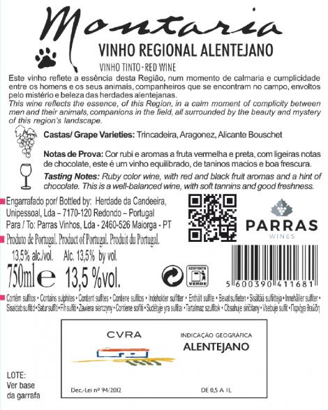Tinto Montaria 2019