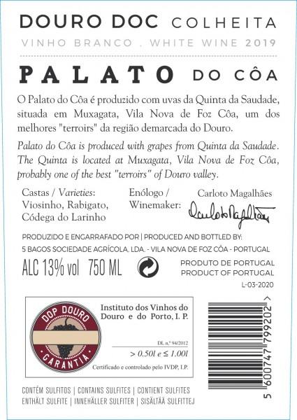Branco Palato do Côa 2019